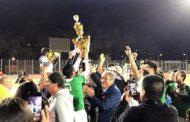 Unión Tangue levantó la copa del torneo adulto de la Asociación Diaguitas