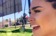 El susto de la ex Miss Chile Camila Recabarren estas Fiestas Patrias en Ovalle