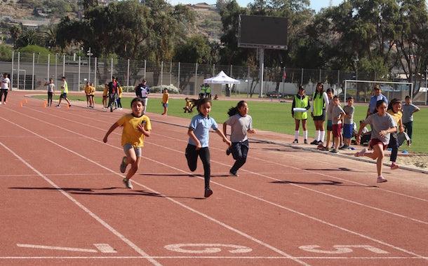 11 colegios y escuelas de la la comuna participaron del Campeonato Escolar de Atletismo