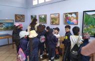 """Juan Gonzalez vuelca sus """"Emociones"""" en exposición en Biblioteca Pública de Ovalle."""