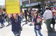 Por todos ellos, no callaremos, no bajaremos los carteles, las ollas, ni nuestros brazos