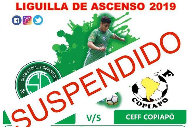 Un final de campeonatos con suspenso: suspenden futbol de Tercera