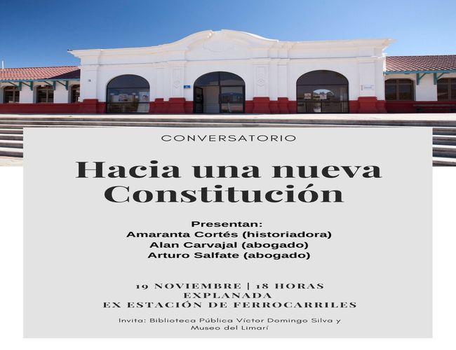 Museo y Biblioteca de Ovalle invitan a conversar sobre la nueva Constitución