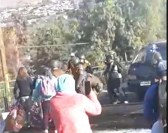 Juez declaró ilegal detención de jóvenes que participaban en barricada que cortaba ruta