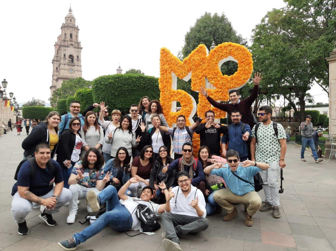 Estudiante ovallinos realizaron pasantía en México