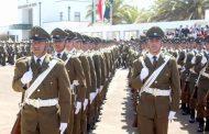 """Alumnos de escuela de formación """"Grupo Ovalle"""" de carabineros realizan su juramento de egreso"""