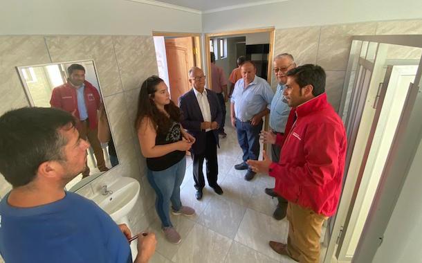 Inauguran espacios públicos con inversión cercana a los 90 millones de pesos en Río Hurtado