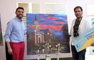 El artista visual Fernando Pizarro gana Concurso Regional de Pintura