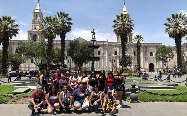 Estudiantes ovallinos participaron de gira gastronómica en Perú
