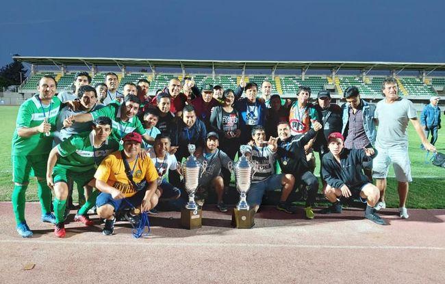 Unión Tangue se vistió de doble campeón en los campeonatos de la Asociación Diaguitas