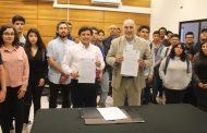 Estudiantes del CFT Estatal potenciarán el emprendimiento con importante convenio con CODESSER