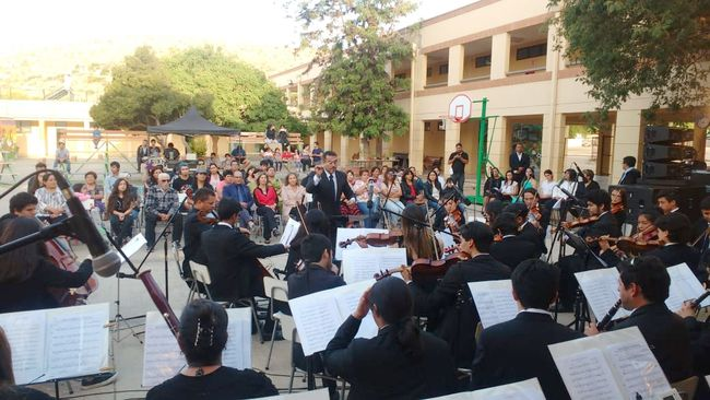 Orquesta Filarmónica de Coquimbo deslumbró con concierto navideño en Punitaqui
