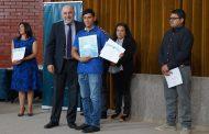 Estudiantes del CFT Estatal región de Coquimbo recibieron sus primeras certificaciones intermedias
