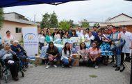 Estudiantes entregan a Hogar de Ancianos de Ovalle ayuda recolectada en campaña solidaria