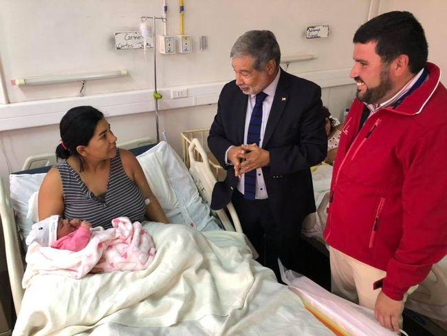 De Monte Patria es el primer nacimiento del 2020 en la provincia de Limarí.