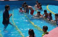 Inician cursos gratuitos de natación en Monte Patria