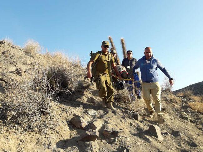 Rescatan a anciano criancero que sufrió accidente en una quebrada durante faenas de pastoreo