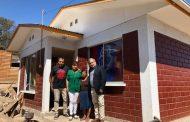 Un nuevo  hogar recibe vecina que perdió su vivienda en un aluvión