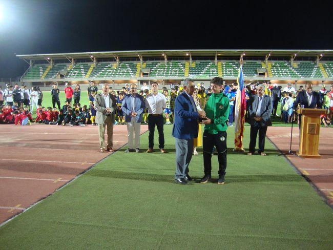 Campeonato Internacional de futbol Infantil tuvo su noche diferente