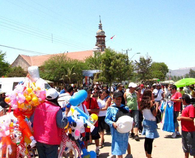 Fiesta religiosa de Sotaquí y el comercio ambulante: hay que despejar la interrogante