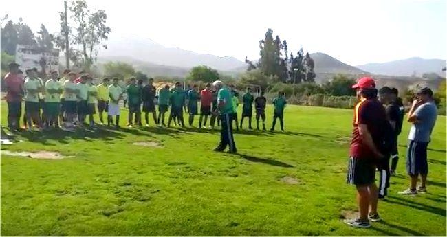 Más de un centenar de jóvenes llega a prueba de jugadores del Deportivo Ovalle