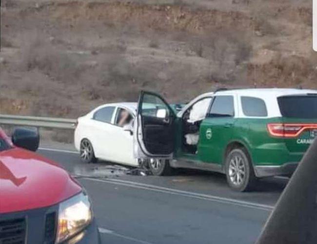 Trasladan a Coquimbo a tres heridos graves en accidente del sector La Paloma