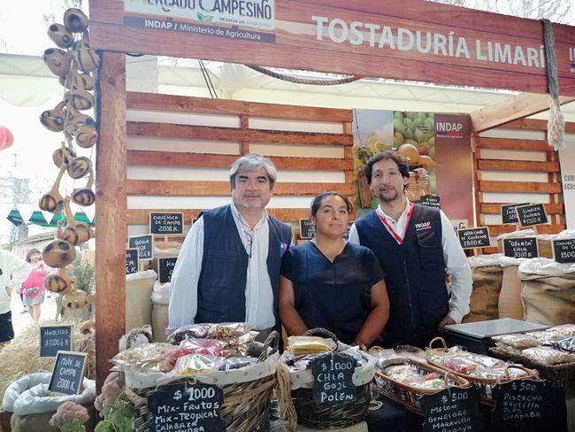 Productores limarinos están presentes en la primera versión de la Expo Mundo Rural en Coquimbo