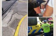 """Calles de Ovalle están llenas de """"trampas"""" para adultos mayores"""