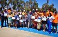 Niños y adultos mayores participaron de cursos de natación en Ovalle