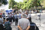 Una retreta dominical diferente ofreció la banda Municipal