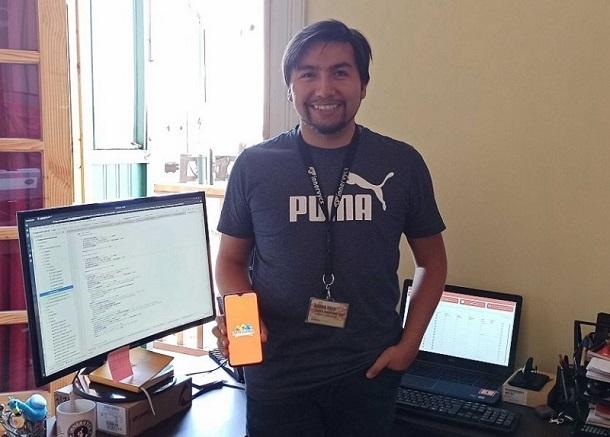 Profesional ovallino participó en la creación de App para Fantasilandia