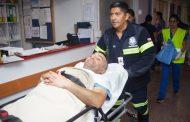 Realizan primer simulacro de traslado de pacientes en al nuevo Hospital de Ovalle