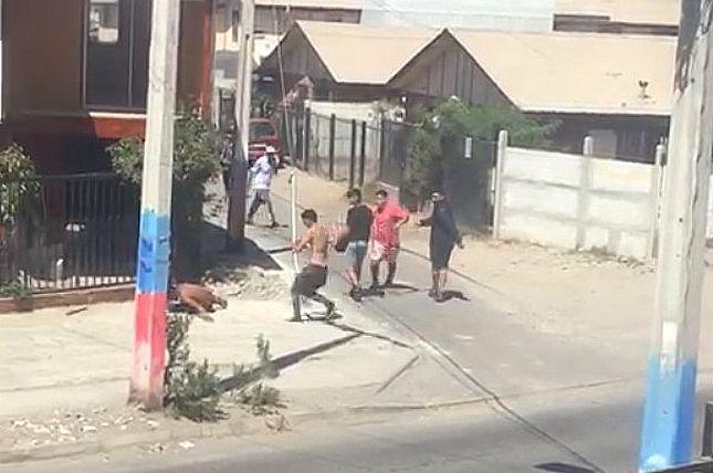 Impacto por video de brutal acuchillamiento de joven en población ovallina