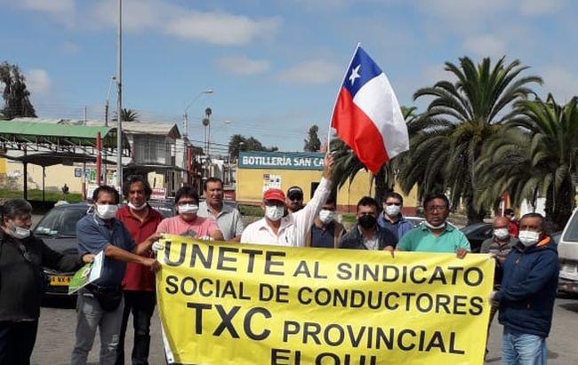Conductores de transporte colectivo menor  hacen llegar demandas a autoridades regionales