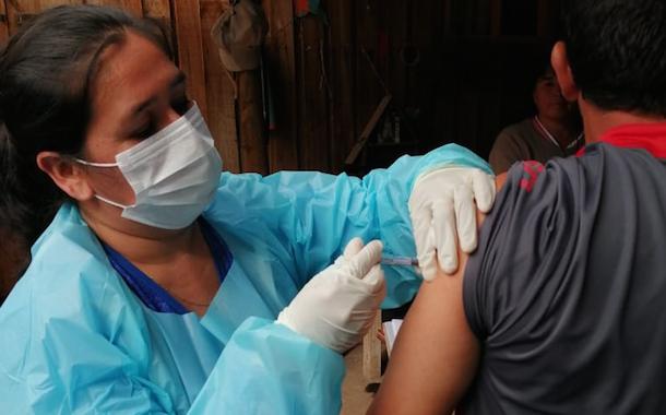 Monte Patria alcanza el 90 % de personas vacunadas contra la Influenza