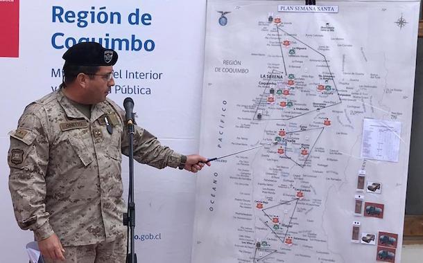 Unidad del Ejército se instalará en Ovalle para enfrentar Semana Santa