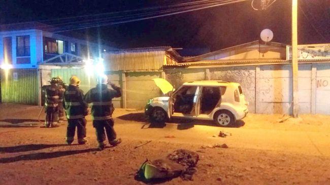 Una agitada noche tuvieron bomberos al filo del toque de queda