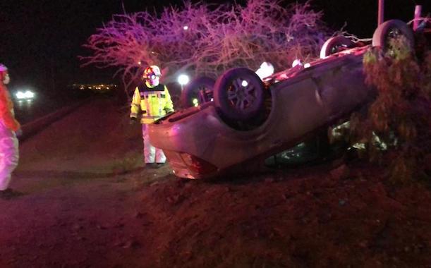 Última Hora: Accidente se registra en ruta Ovalle - Punitaqui