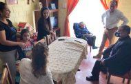 Familia ovallina recibe importante apoyo para joven discapacitado