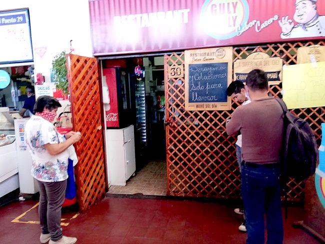Los restaurantes del Mercado Municipal y su difícil momento