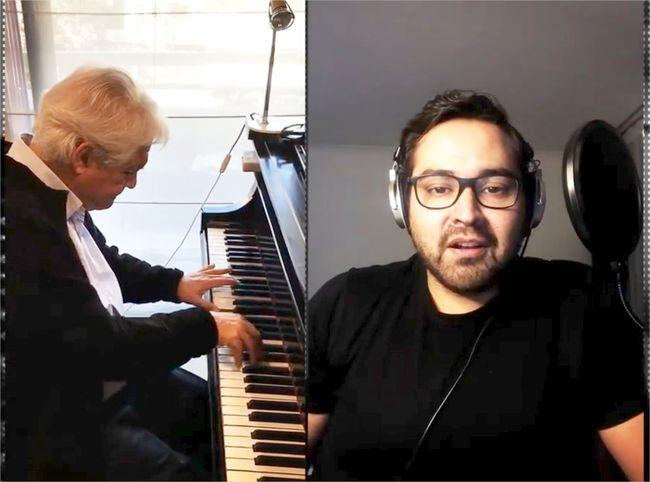 Video de cantante ovallino con Maestro Roberto Bravo la rompe en internet