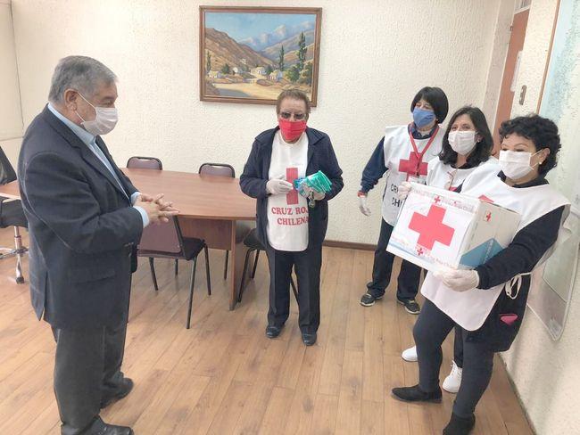 Cruz Roja Ovalle siempre presente: hace importante aporte para distribución de ayuda solidaria