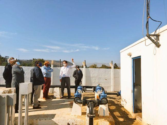 Dirigentes de Agua Potable Rural del Limarí conocen experiencia de telemetría de Pichidangui.
