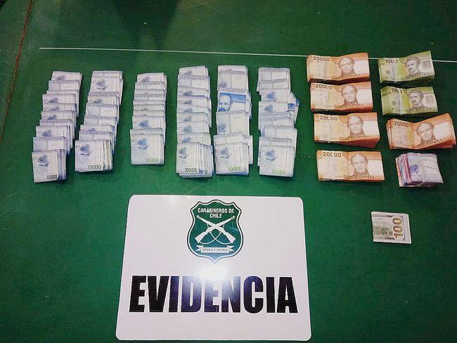 Recuperan más de quince millones de pesos robados desde empresa agrícola en Ovalle