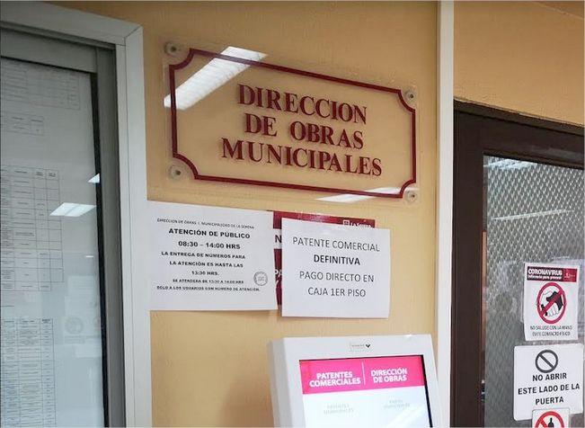 Confirman Covid 19 positivo en funcionario de la Dirección de Obras Municipales