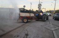 Apedrean a personal de operativo de sanitización en Ovalle