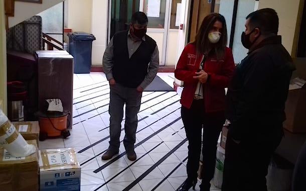 Gendarmería continúa entrega de insumos sanitarios a funcionarios y población penal en Coquimbo