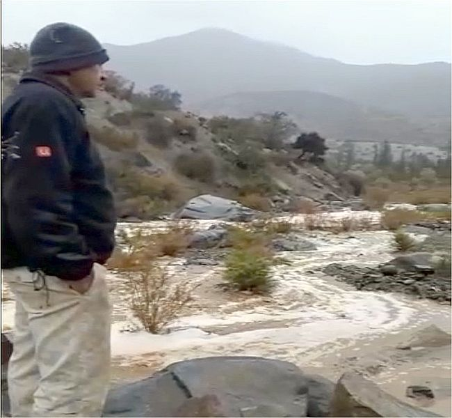 Ajial de Quiles se sacó el premio gordo en la lluvia: 47.3 mms