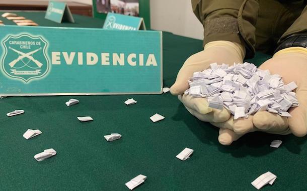 POLICIAL: Detienen a grupo familiar por tráfico de pasta base de cocaína