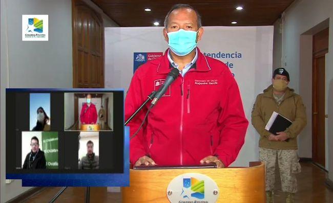 Ovalle vuelve a superar a La Serena y Coquimbo en número de casos diarios de contagios